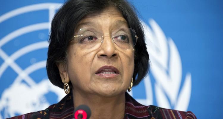 Press Conference in Geneva by Navi Pillay